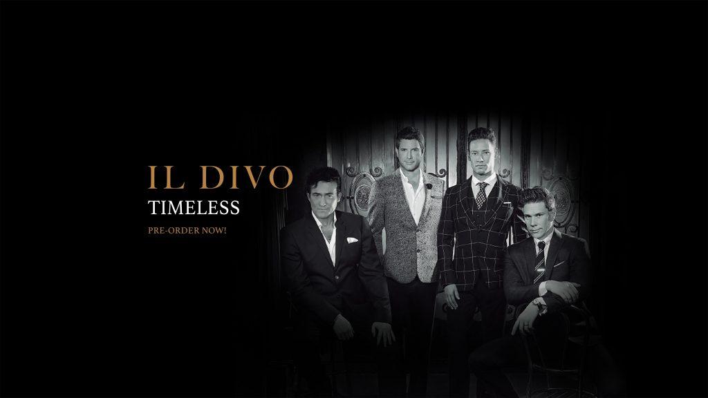Il Divo - Timeless Album PreOrder