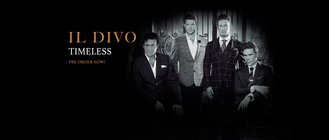 IL Divo Timeless pre order now