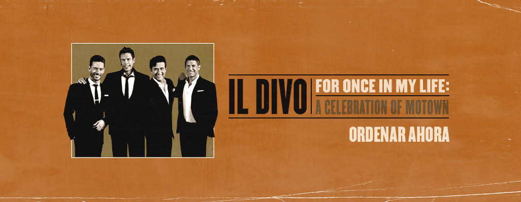 NUEVO ALBUM - For Once In My Life - A celebration of Motown.